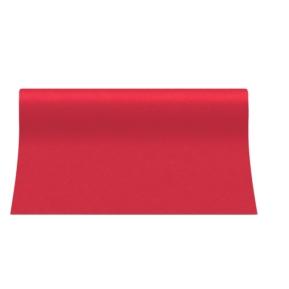 Bieżnik 40x24 Airlaid Unicolor Czerwony