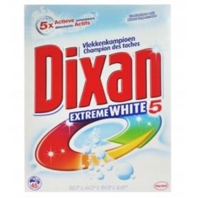 Dixan Extreme White5 Proszek do bieli 2,9kg 45prań