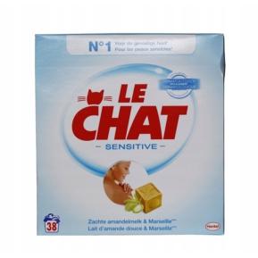 Le Chat Sensitive proszek do prania 2,47kg/38 pr.