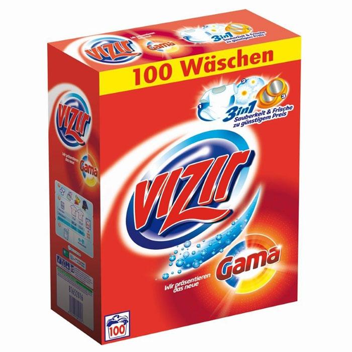 Vizir 3in1 proszek do prania 6,5kg 100 prań