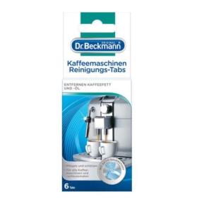 Dr Beckmann Kaffeemaschinen Reiniungs Tabs 6szt