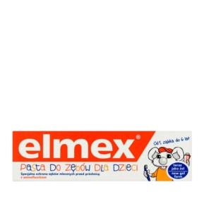 Elmex pasta do zębów dla dzieci (0-6lat) 75ml