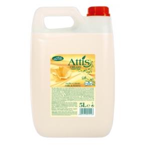 Atis Creamy 5l mydło w płynie mleko i miód