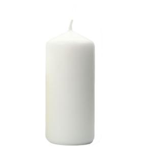 Świeca Walcowa  80x150 biała