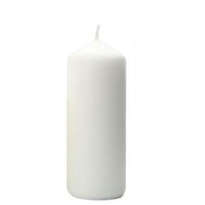Świeca Walcowa  70x150 biała