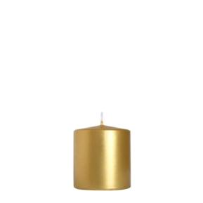 Świeca walcowa 70x70 GOLD
