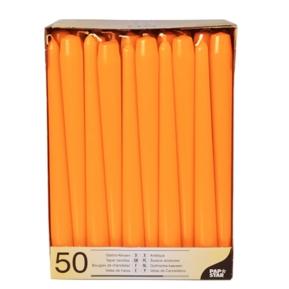 Świece stożkowe 2,2, 25cm pomarańczowy a'50