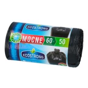 Worki 60l LDPE a'50 czarne