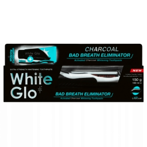 White Glo Bad Breath Eliminator czarna 100ml