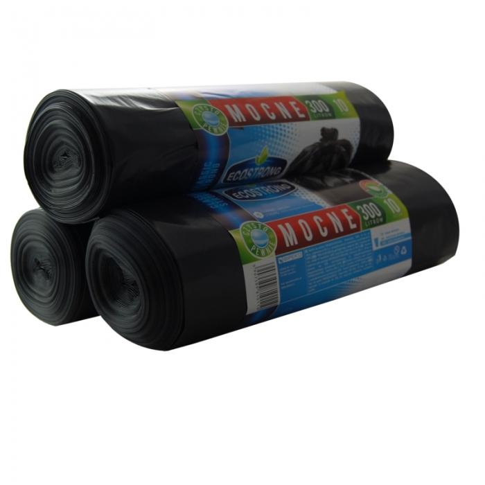 Worki LDPE 300l 10szt. czarne