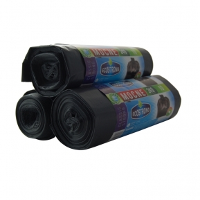 Worki LDPE 240l 10szt czarne Sipeko