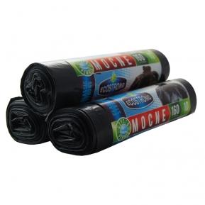 Worki LDPE 160l 10szt. czarne Sipeko