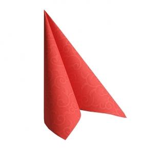 Serwetki CASALI, 1/4, 40x40, a'50 czerwony