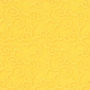 Serwetki CASALI, 1/4, 40x40, żółty, a'50