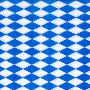 """Serwetki 1W, 1/4, 33x33 """"Bawarski błękit""""a'100"""
