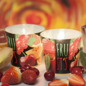 Świeca zapachowa szkło Fruit's Red S0015