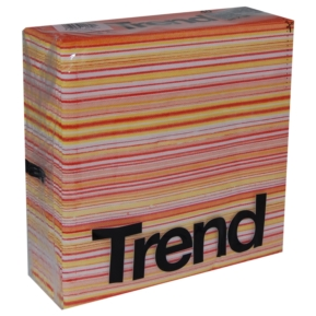 "Serwetka ""Trend Traccia"" , 38x38, 2w, orange, a'40"