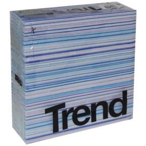 "Serwetka ""Trend Traccia"" , 38x38, 2w, blue, a'40"